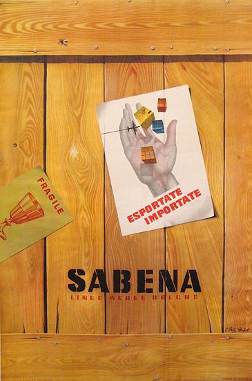 Sabena Cargo Crate