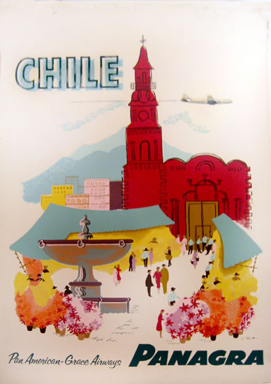 Pan Am - Panagra - Chile