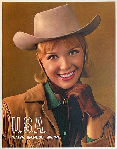 Pan Am USA (Photographic/ Cowgirl)