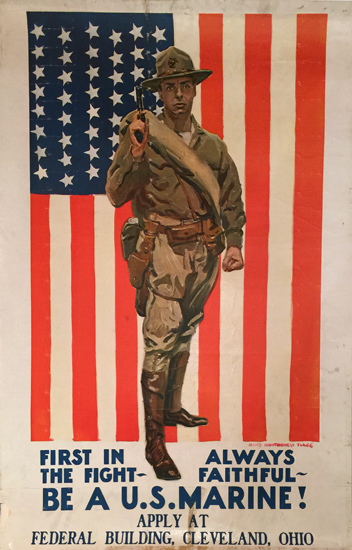 Be A US Marine!