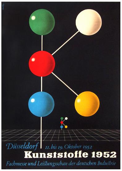 Kunststoffe1952  Dusseldorf
