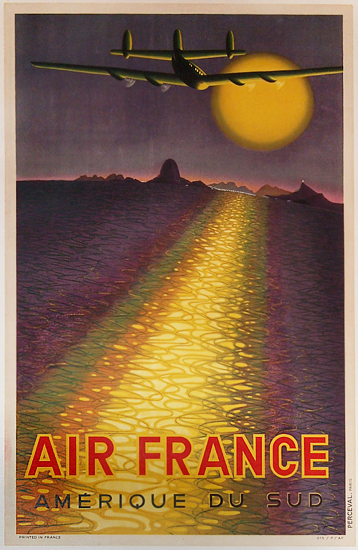 Air France - Amerique du Sud (Sunset Vasserely)
