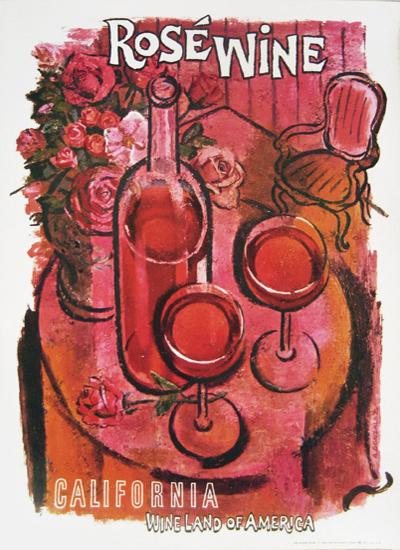 California Wine - Rose Wine
