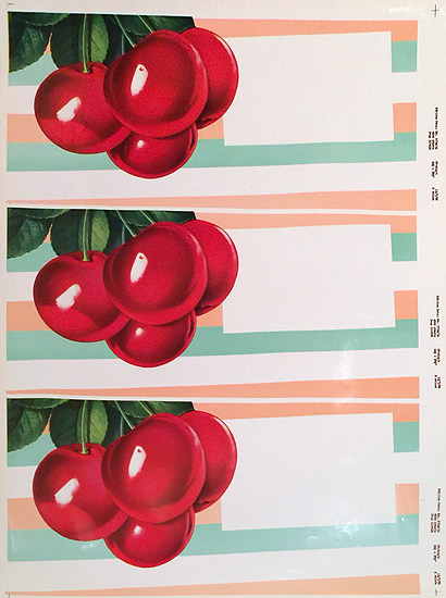 American Die Cut - Cherries