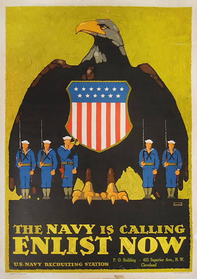 The Navy is Calling Enlist Now