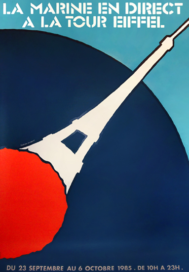 La Marine en Direct A La Tour Eiffel