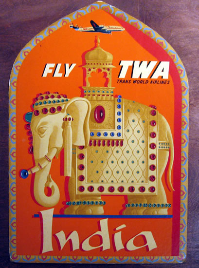 TWA - India CARTON
