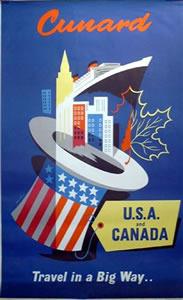 Cunard - USA & Canada