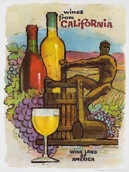California Wine - Wine Land of America (Press)