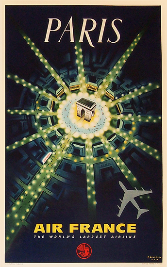 Air France - Paris The World's Largest Airline (JET/1960's)