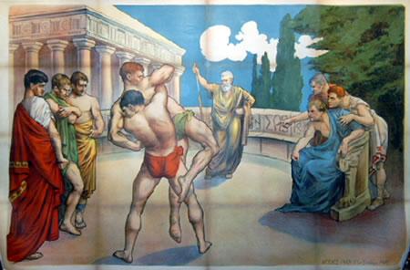 Roman Wrestlers