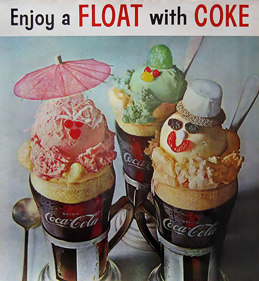 Float with Coke (Ice Cream Faces)