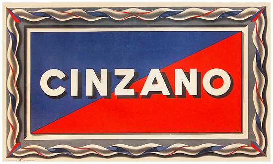 Cinzano (Geometric Waves)