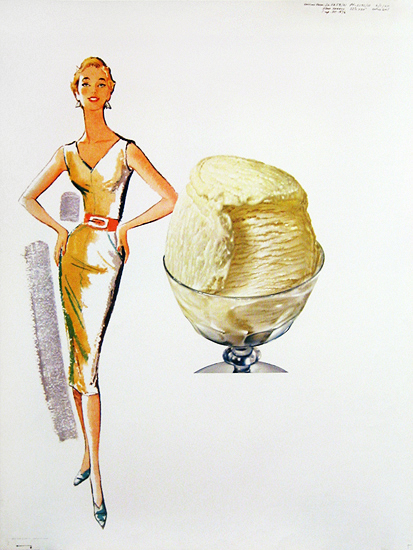 American Die Cut - Vanilla Ice Cream and Fashion