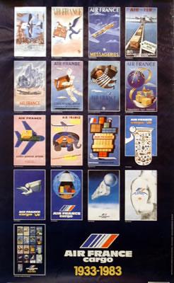Air France Cargo 1933-1983