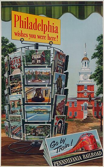 Philadelphia Wishes You Were Here! Pennsylvania Railroad