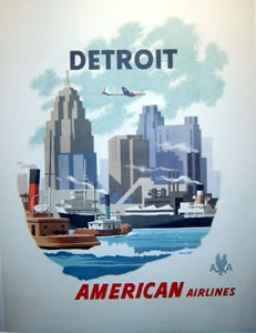 American Airlines - Detroit