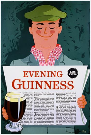 Guinness - Evening Guinness (News Paper)