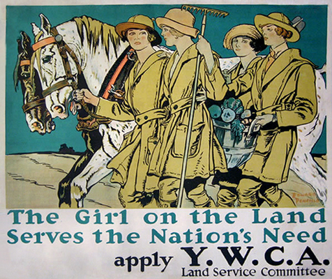 YWCA The Girl on the Land