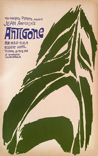 Brooklyn Heights Players- Antigone by Jean Anouilh
