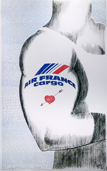 Air France - Cargo (Tattoo)