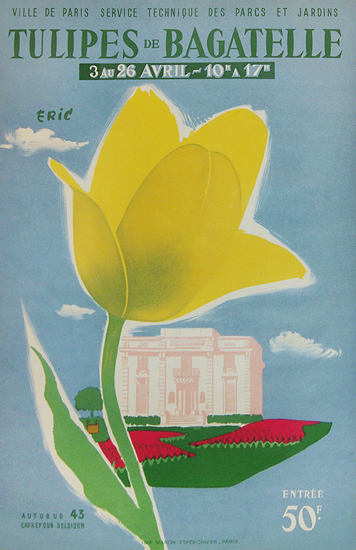 Tulipes De Bagatelle (Eric/ Yellow Tulip)