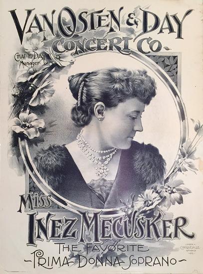 Van Osten and Day (Inez Mecusker The Favorite Prima Donna Soprano)