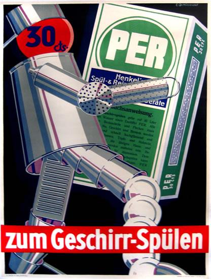 Per Geschirr-Spulen (Robot)