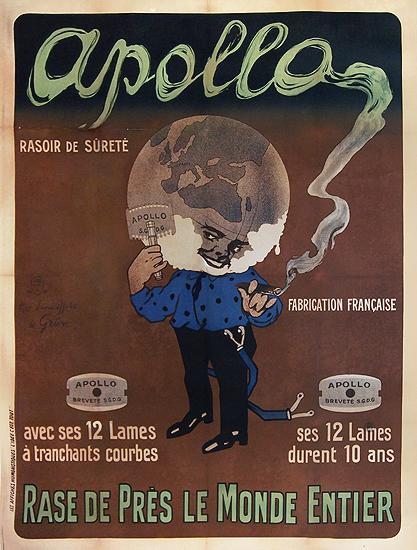 Apollo Rase de Pres Le Monde Entier - Rasoir de Surete (Razors)