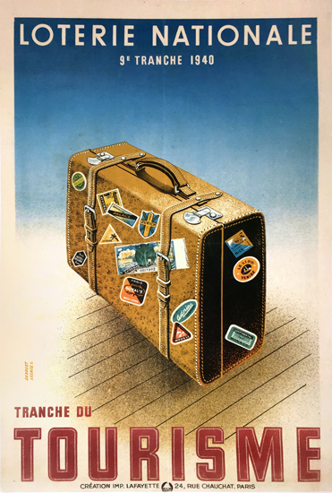 Loterie National Tourisme Suitcase