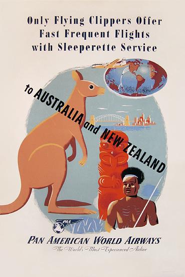 Pan Am  Australia and New Zealand