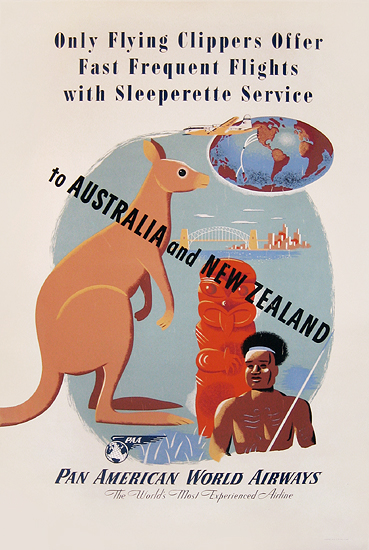 Pan Am  Australia and New Zealand