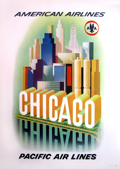 American Airlines - Chicago Pacific Airlines