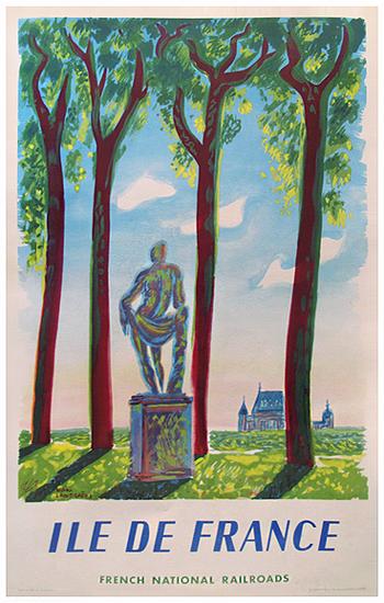 SNCF - Ile de France (Statue)