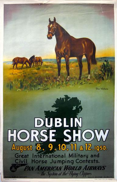 Pan Am Dublin Horse Show