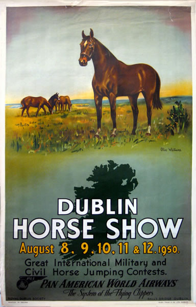 Pan Am Dublin Horse Show