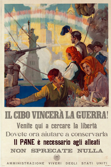 Food Will Win the War (Italian)