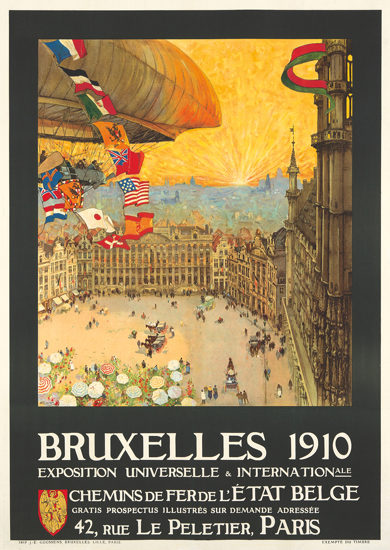 Exposition Universelle Bruxelles 1910