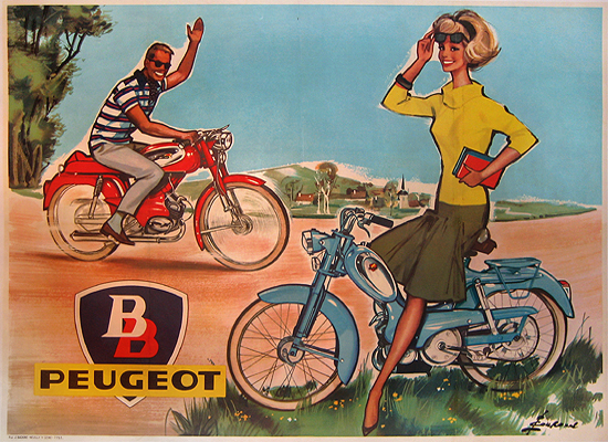 BB Peugeot Bike Couple 47x63