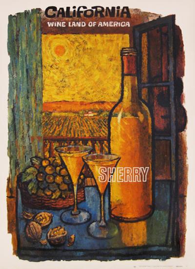 California Wine - Sherry - Wine Land of America