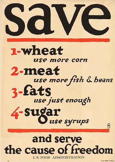 Save (Wheat, Meat, Fats Sugar)