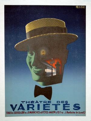 Theatre de Varietes - Maurice Chevalier