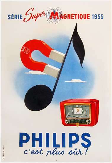 Philips (Music Note & Magnet)