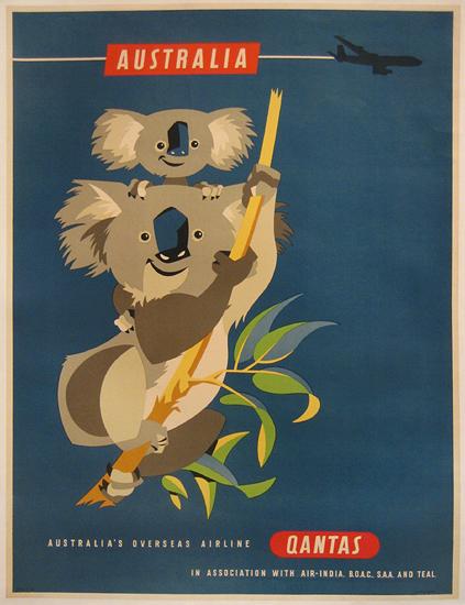 Qantas Australia (Koala Bears)