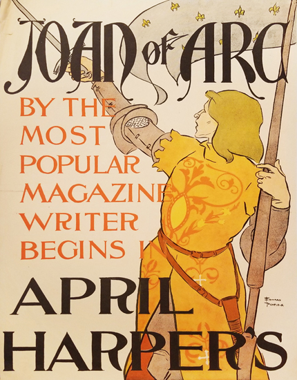 Harper's April Joan of Arc