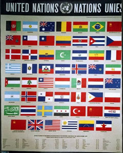 United Nations Flags