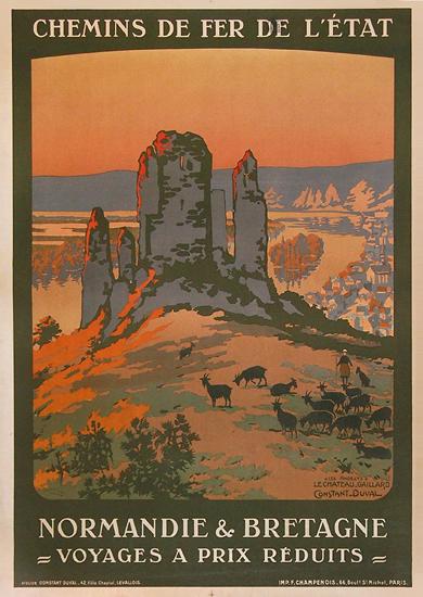 Normandie & Bretagne Chemin De Fer De L'Etat