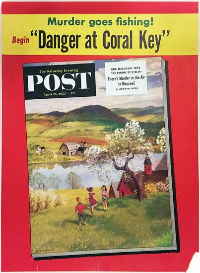 Saturday Evening Post - Danger Coral Key