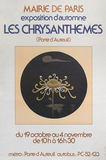 Les Chrysanthemems Marie de Paris