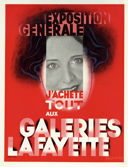 Galeries Lafayette Exposition Generale